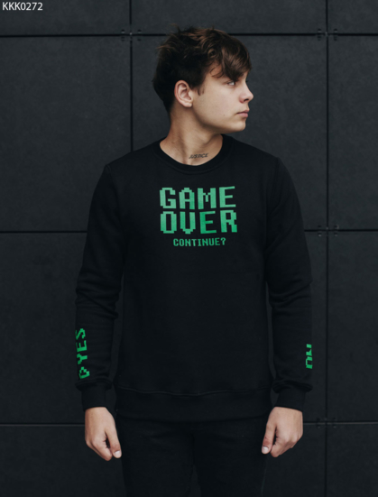 Свитшот Staff game over fleece