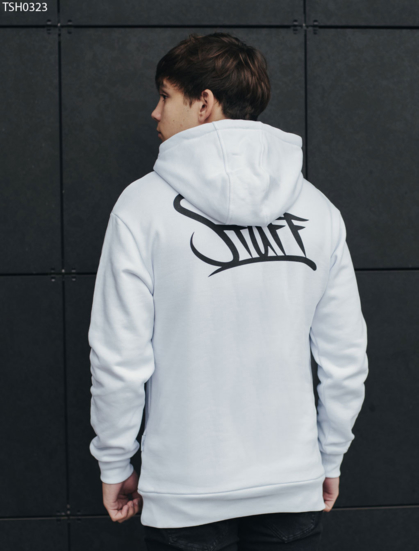 Толстовка Staff white logo fleece