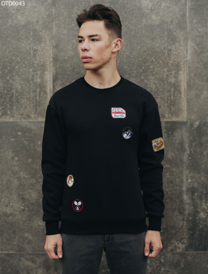 Свитшот Staff black patch fleece