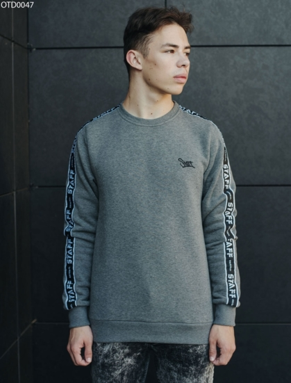 Свитшот Staff original gray fleece