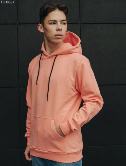 Толстовка Staff pink  light basic fleece