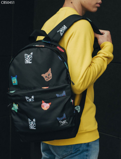 Рюкзак Staff green day Cat Face 27 L