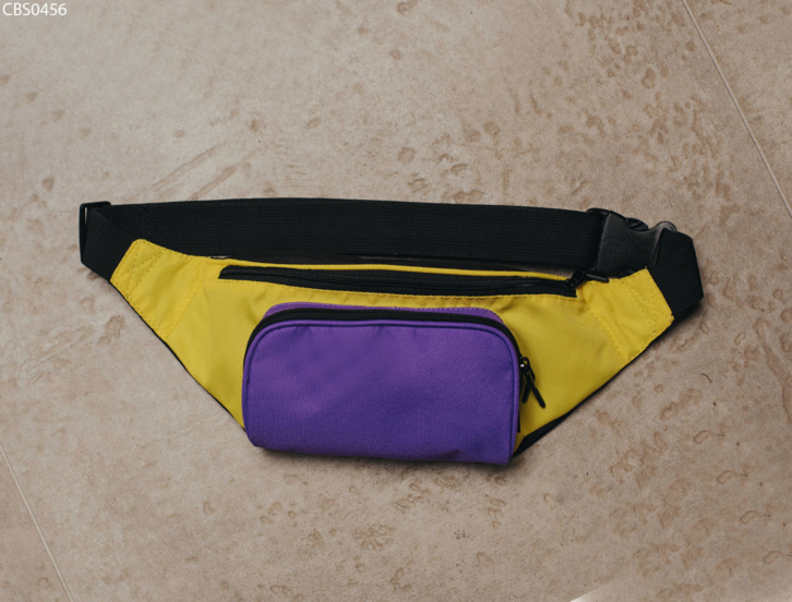 Поясна сумка Staff black purple yellow