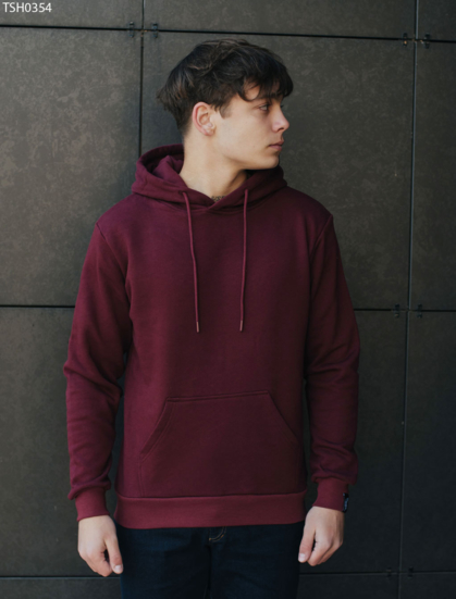 Толстовка Staff bordo2 basic fleece
