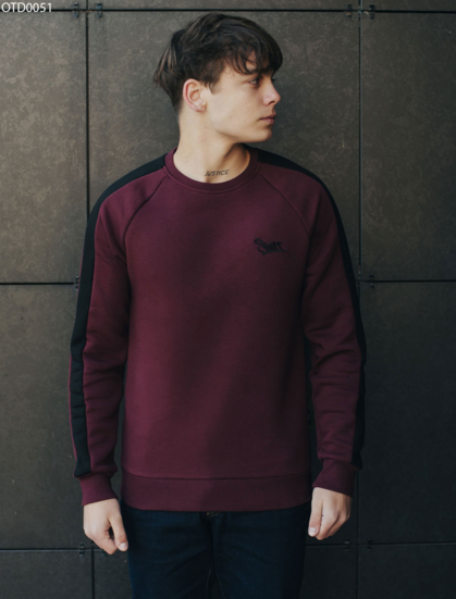 Свитшот Staff bordo line logo fleece