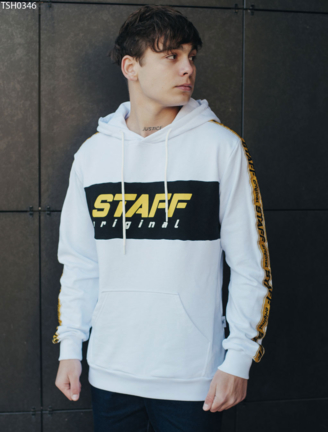 Толстовка Staff white original