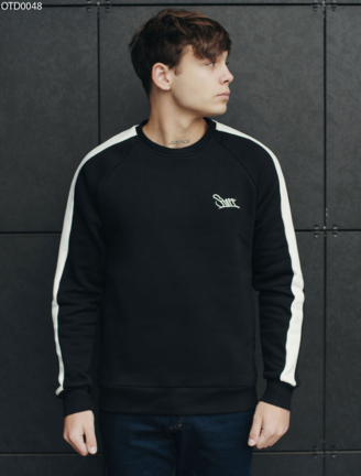 Свитшот Staff black logo line fleece