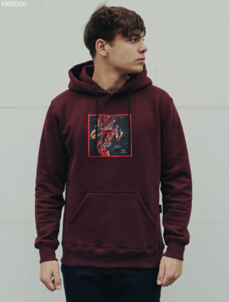 Толстовка Staff bordo tiger fleece
