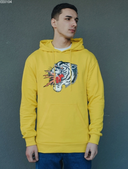 Толстовка Staff yellow tiger