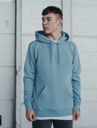 Толстовка Staff light blue basic