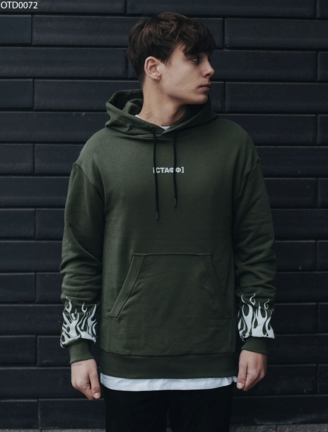Толстовка Staff fire reflective khaki