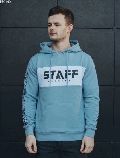 Толстовка Staff original blue