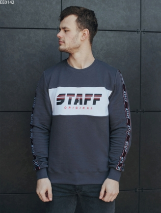 Свитшот Staff original gray