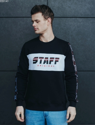 Світшот Staff original black