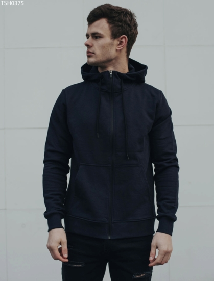 Толстовка Staff zip navy basic