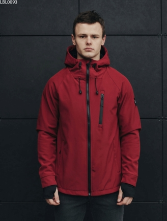 Куртка Staff soft shell Solar bordo