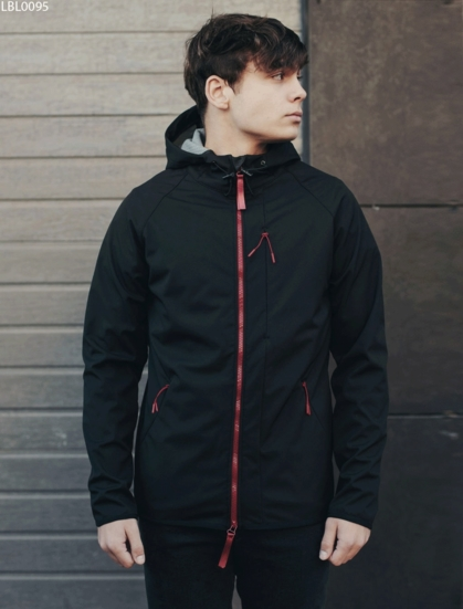 Куртка Staff soft shell black C