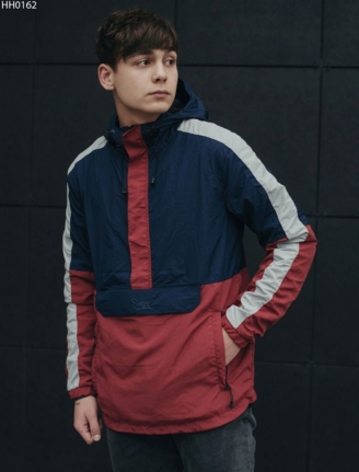 Анорак Staff global navy & red