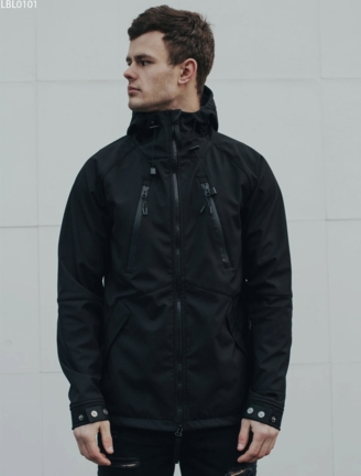 Куртка Staff soft shell black ros