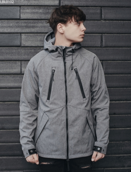 Куртка Staff soft shell gray ros
