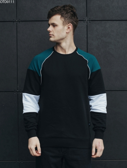 Світшот Staff colorblock black