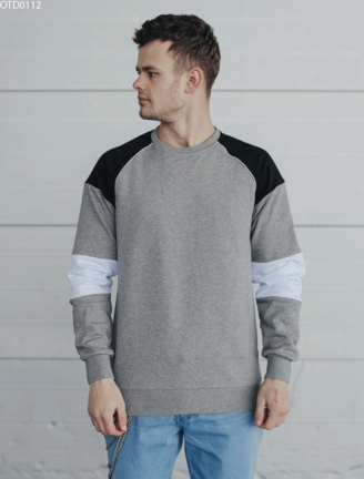 Світшот Staff colorblock gray