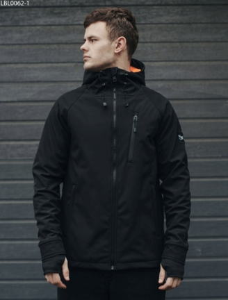 Куртка Staff soft shell Solar black