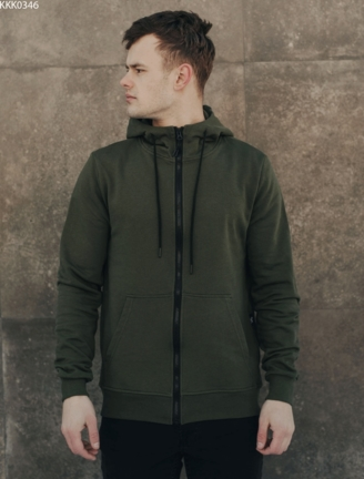 Толстовка Staff zip khaki basic