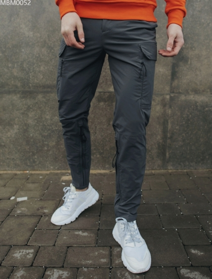 Штаны Staff cargo spandex gray regulation