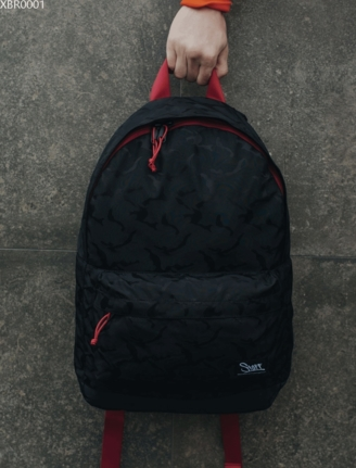 Рюкзак Staff 27L black camouflage & red