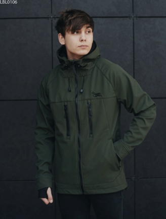 Куртка Staff soft shell haki