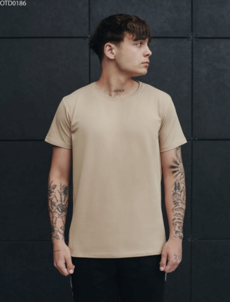 Футболка Staff beige basic