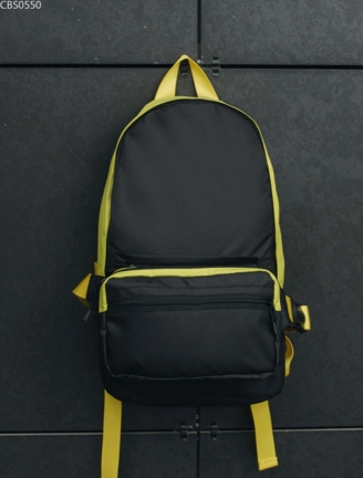 Рюкзак 23L + поясная сумка Staff one plus black & yellow